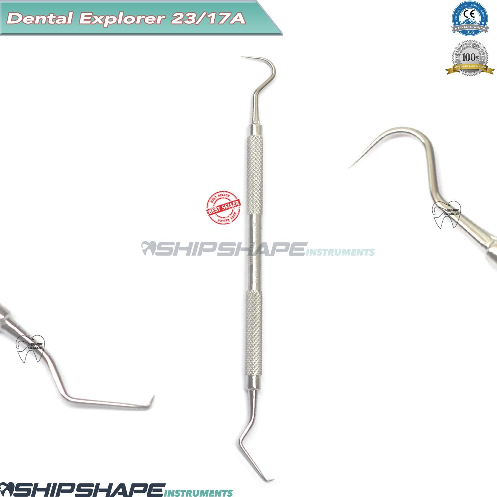 Explorer 23/17A Dental Tartar Remover Scaler Double Ended Hygiene Instrument CE-0