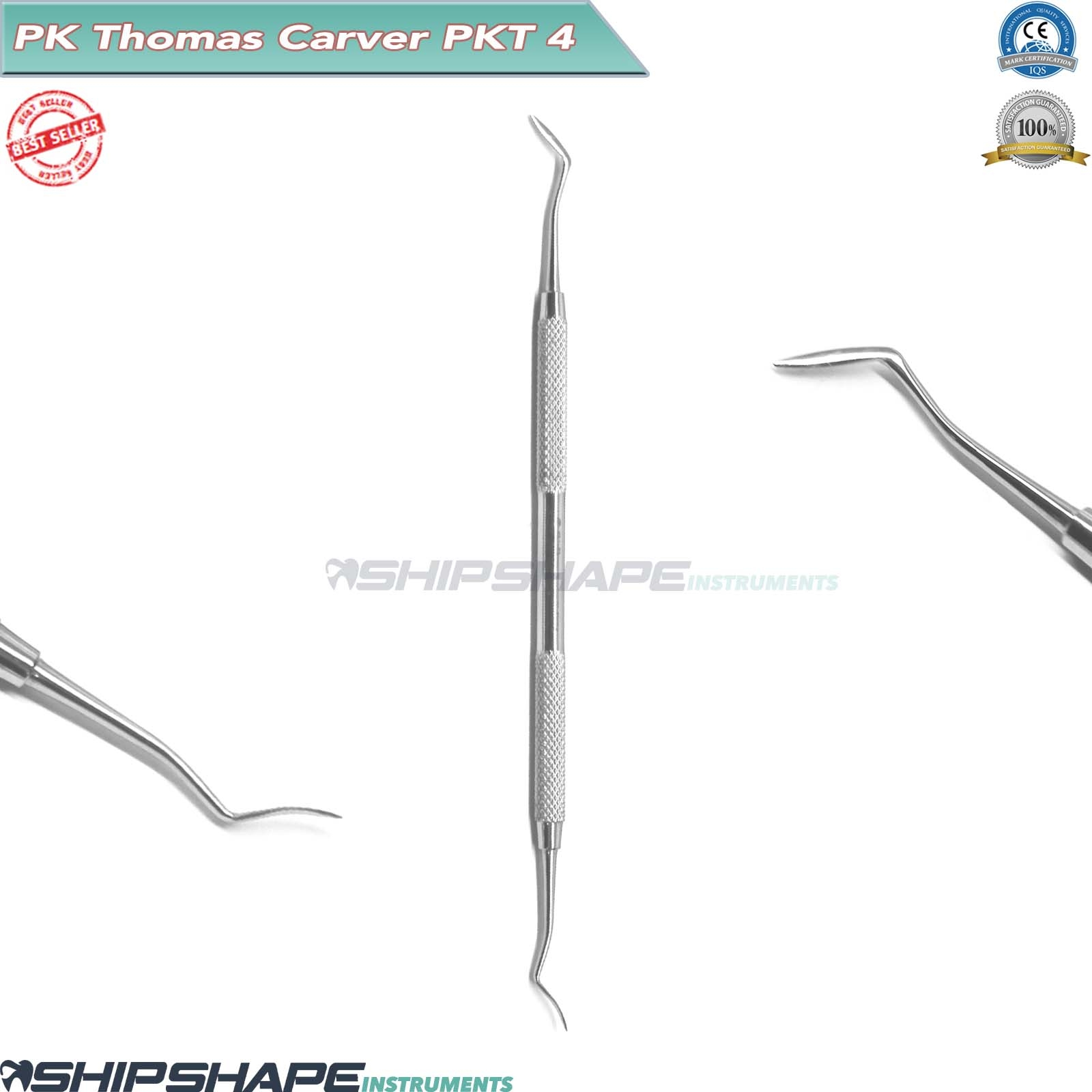 PK.THOMAS Carvers SET of 5 Stainless Steel Dental Wax and Modelling Carving Lab PKT1, PKT2, PKT3, PKT4, PKT5-2070