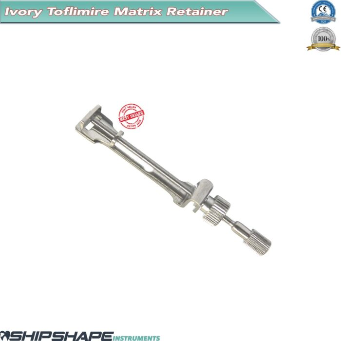 Ivory Matrix Retainer Dentists Tofflemire Surgical Dental Stainless Instrument-0