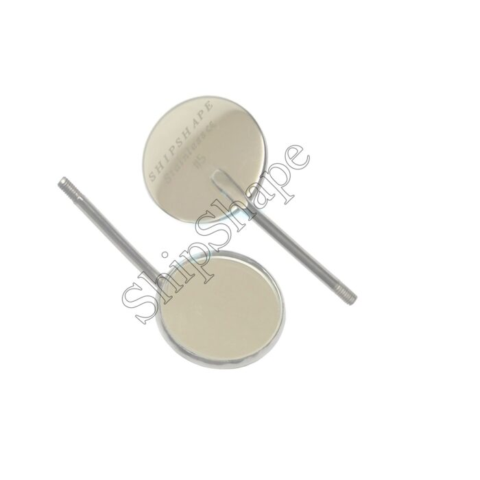 X1 - Magnifying Mirror No.5 Dental Mouth Inspection Mirrors   Shipshape Instruments-0
