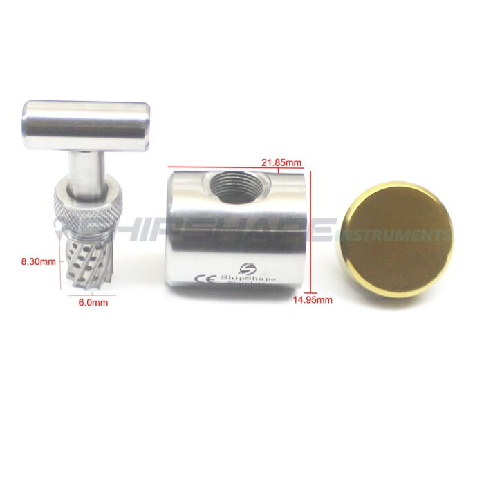 Dental Bone Crusher Mill Grinder Implant Bone Graft Implant Augmentation Tools Implantology, Dentistry -0