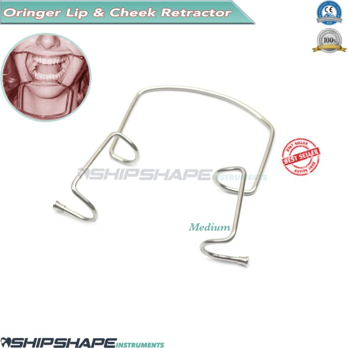 Dental Oringer Lip Retractor Cheek Orthodontic Self Retaining Mouth Expander   shipsgape instruments-0
