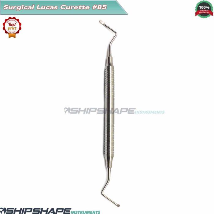 Lucas Curette 85, Dental Bone Curette Surgical Periodontal Instruments-0
